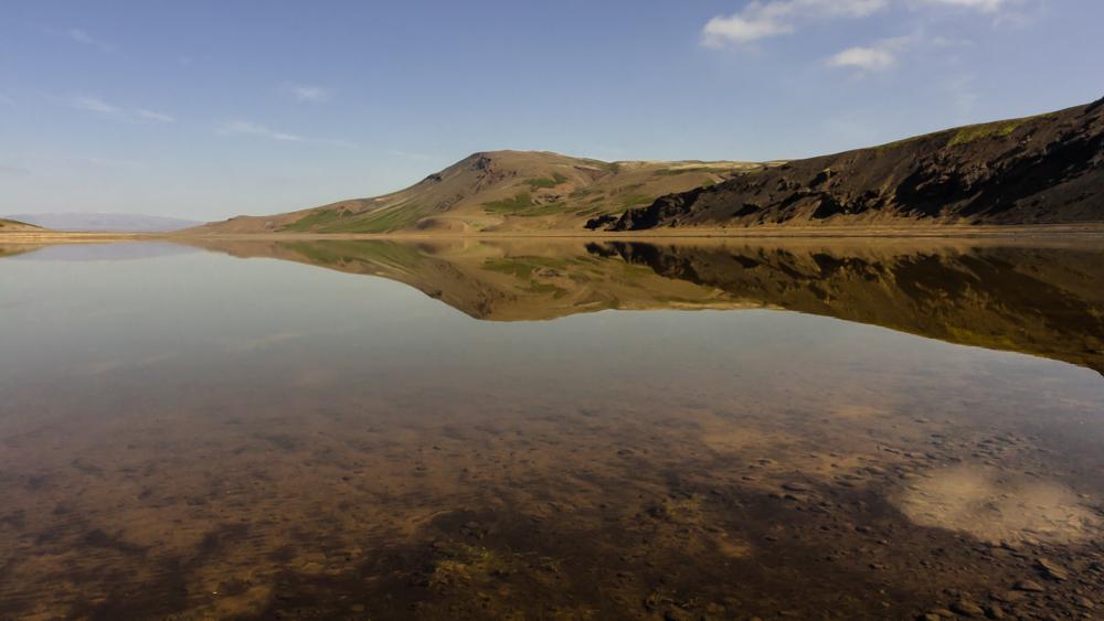 Sandkluftavatn ežeras