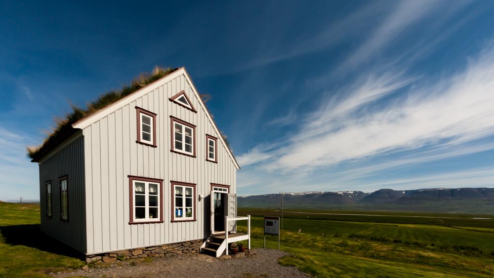 Plačiakampio objektyvo smagumai. Skagafjörður paveldo muziejuje