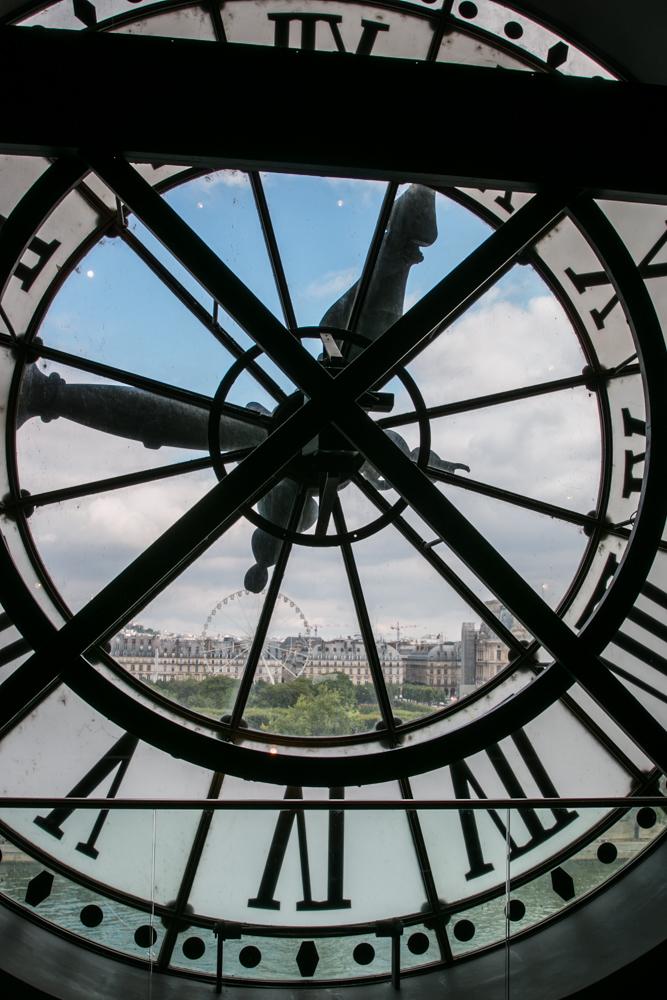 Anapus laiko. D'Orsay muziejuje.